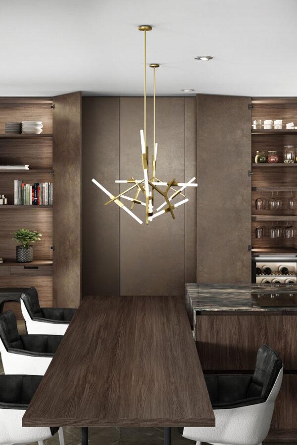 Quetzal Acero Golden Studio 430 Roble Palma